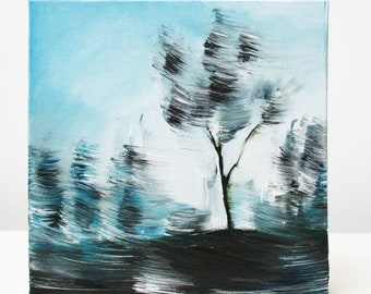 Windswept (an original oil painting)