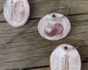 Vegetable Garden Labels Set 3