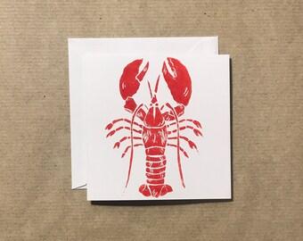 Valentine's 'Lobster' Card