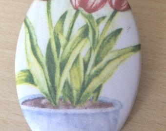 "magnets / Fridge Magnet: ""Tulip"""