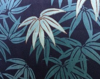 One Half Yard of Fabric - Tropical Green Foliage