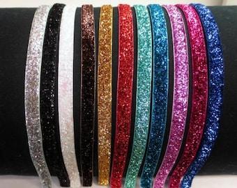 Glitter Headband, Girls Headbands, Adult Headbands, Headband Womens, Toddler Headbands, Womens Headbands, Headband, Sparkle Headband