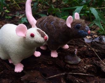 Custom pet rat doll