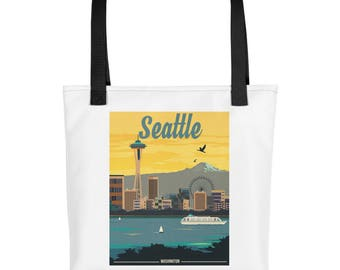 Seattle Washington | Tote bag