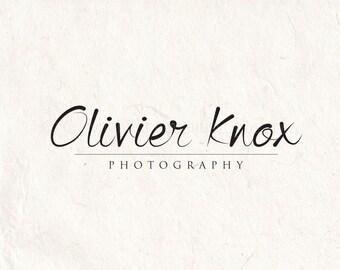 Photography logo - signature logo design - logo Watermark logo - calligraphy logo design