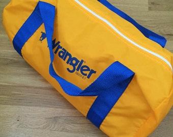 Deadstock Wrangler Duffel Bag 1980s
