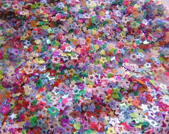 Glitter Shapes , Sequence Metallic Heart , Stars & moons Glitter