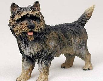 Custom Painted Cairn Terrier Dog Figurine