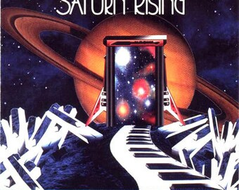 Saturn Rising... a Electronic Space Music CD by  David Blonski & Jon Allasia... Free Shipping on all CD orders