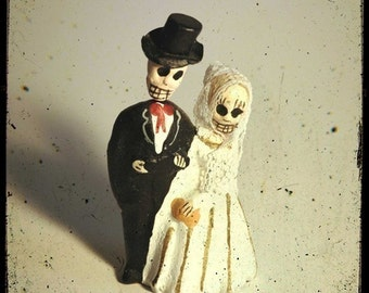 Day of the Dead Figures 5x5 Fine Art Photo
