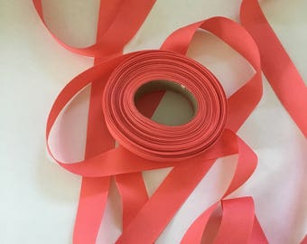 Pink Grosgrain Ribbon