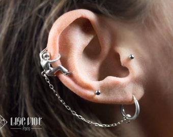 Le grimpeur d'oreille - Argent