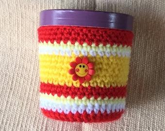 Pint Size Ice Cream Cozy, Crochet
