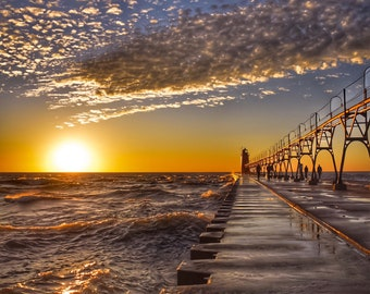 Pier, Sunset and Fairytales