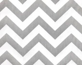 Zig Zag Storm/Twill Fabric by the Yard by Premier Prints   Gray Chevron Fabric by the Yard