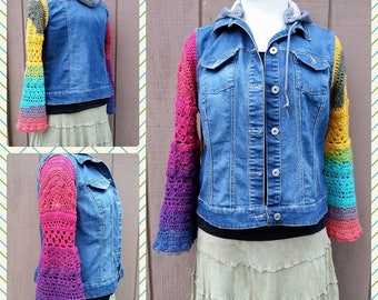 PDF Crochet Pattern for Mollys Sleeves  Pattern ONLY
