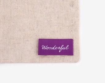 Dailylike Sew-on Label : Wonderful Tag