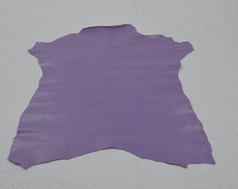 Purple lambskin