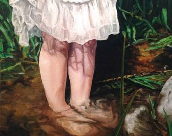 Custom oil painting 11x14