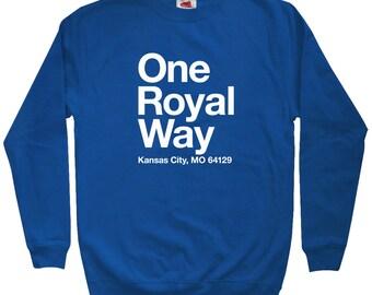 Kansas City Baseball Stadium Sweatshirt - Men S M L XL 2x 3x - Crewneck, KC Shirt, Fan, Sports - 4 Colors