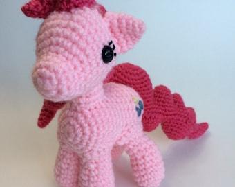 Pink Pony Stuffed Toy