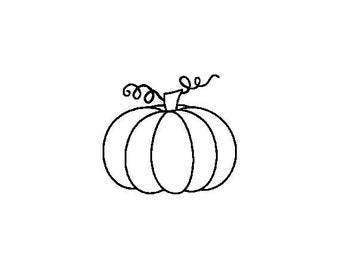"""Small Pumpkin Stamp, card stamp, gift tags stamp, label stamp, stationary stamp, halloween stamp, festive stamp, 0.75"""" x 0.7"""" (minis78)"""