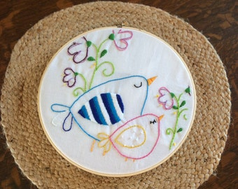Hand done embroidery pattern