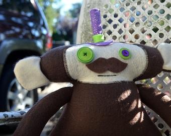 Jacob the Monkey Plush