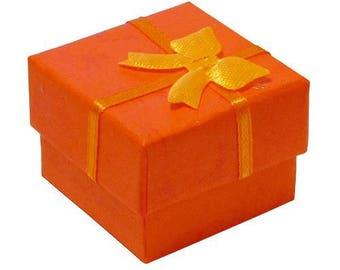 For ring jewelry case - orange