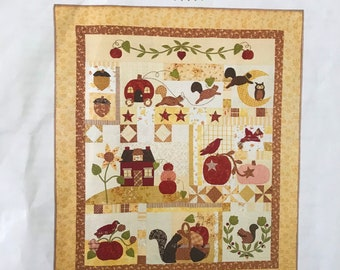 Pumpkin Hill Pattern by Bunny Hill  QUILTSY DESTASH PARTY