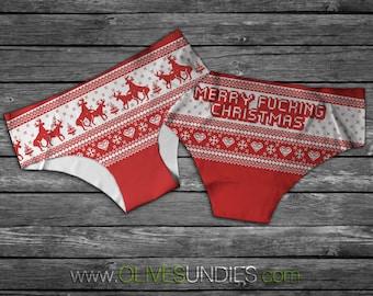 Merry F**king Christmas Panties