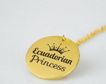 Ecuadorian Jewelry, Ecuadorian Necklace, Ecuadorian Pendant, Ecuador, Ecuadorian Girl, Ecuadorian Woman, Ecuadorian Women, Ecuadorian Art