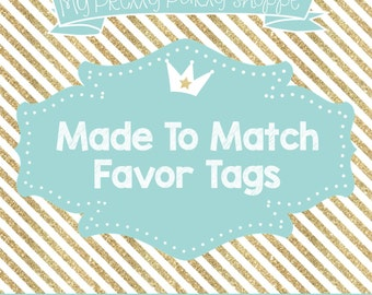 Made To Match: 3 Inch Favor Tags