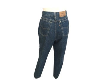 Vintage Levi's Jeans, High Waisted Jeans, Cropped Jeans, Capris Jeans
