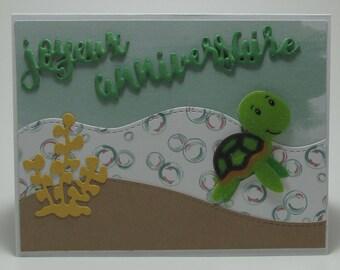 Happy birthday, turtle