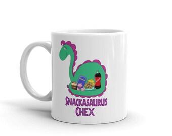 Snackasaurus Chex Mug