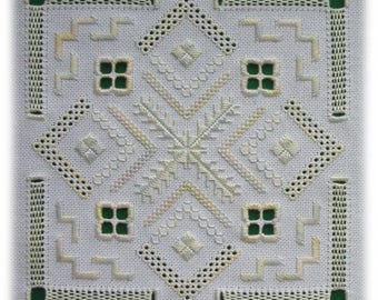 Ukrainian whitework - a collection of four designs