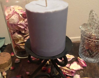 Soy base candle can be made to any color