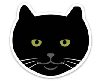 Officer Tom Feral Cat Sticker