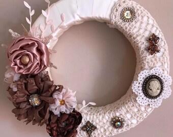 Romantic Shabby Chic Wreath