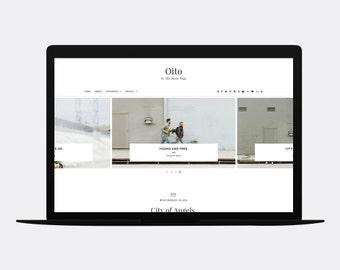 Responsive Blogger template | OITO