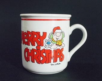Ziggy Mug Merry Christmas Vintage