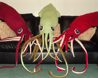 Huge Giant Squid Plush/Body Pillow