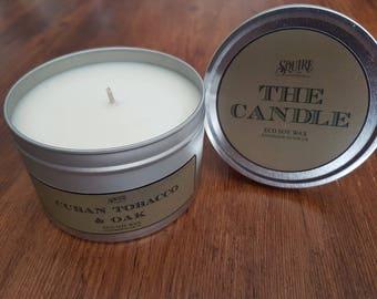The Candle - Cuban Tobacco & Oak