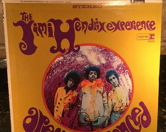 """JIMI HENDRIX """"Are You Experienced"""" Vinyl Record LP Lovely Condition - Rare - Free Shipping!"""