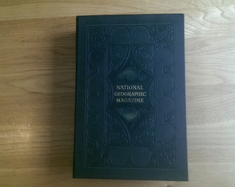 Collection of National Geographic Maps from 1952-55 and Folder