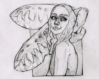 Original sketch for class