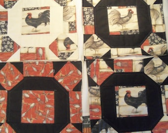 Rooster Placemats set of 4