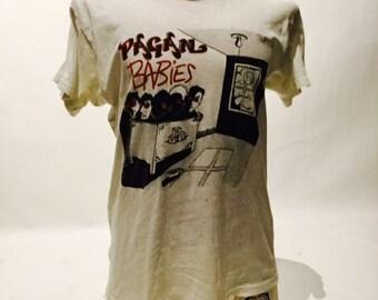 Vintage Pagan Babies 80's Tee Shirt (os-ts-90)