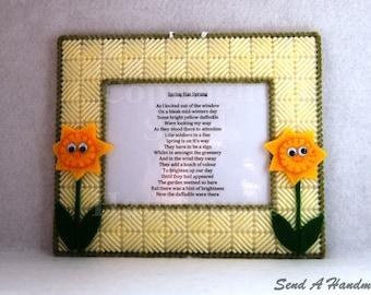 Spring Has Sprung - Poem Frame